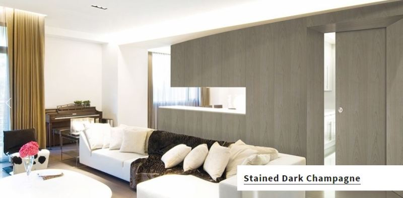 Vicaima Doors - Stained Dark Champagne