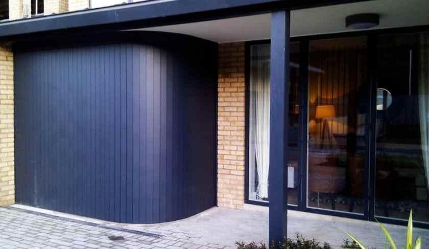 Rundum Meir sliding garage doors