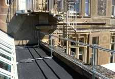 Kee Systems provides a rooftop safety solution for country house hotel