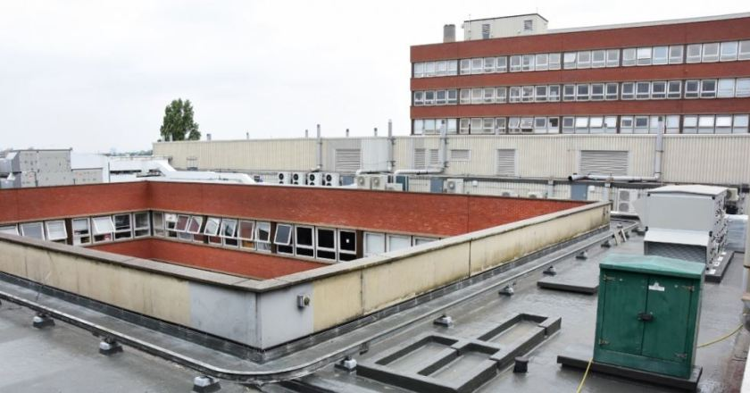 Odourless Roofing Solution Maintains Staff and Patient Comfort  at St George's Hospital