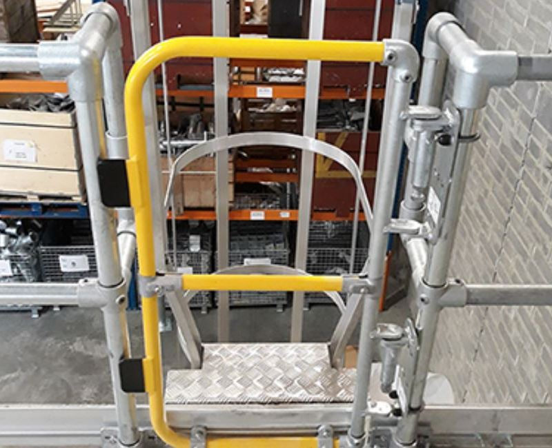 New Full Height Gates for Safe Access from Ladders