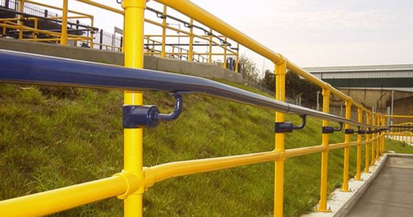 coloured handrails