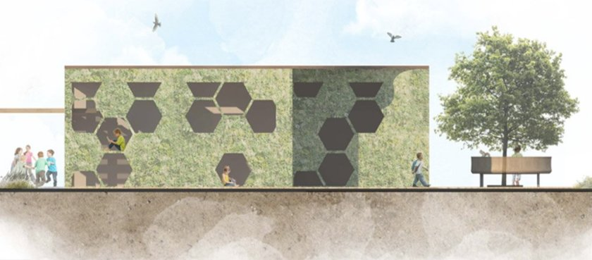 Winning outdoor classroom design for Leicestershire school is revealed