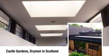 Roof windows transform character of dwelling