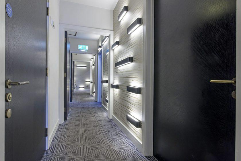 Bespoke Herringbone doors for stylish new seafront hotel in Southend