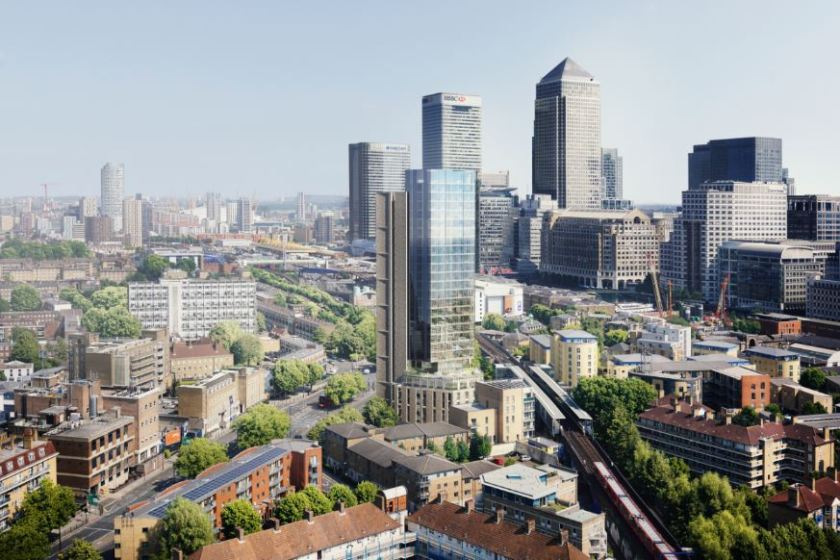 Rockwell Appoint John Sisk & Son to Build 30 Storey Canary Wharf Building 2