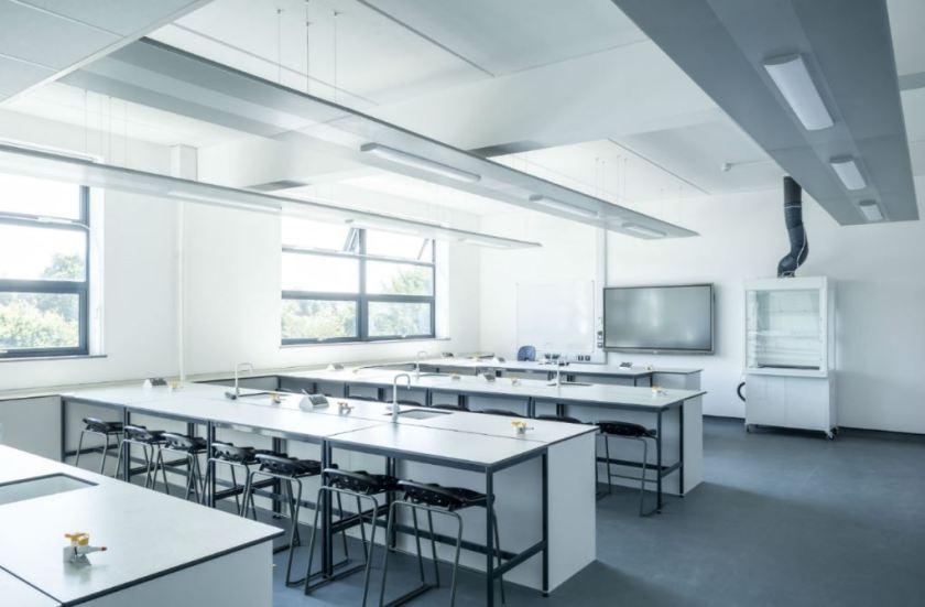 Derelict football stadium transformed into school 1