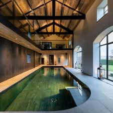 The Pool House: Stunning Wood Cladding by The Main Company