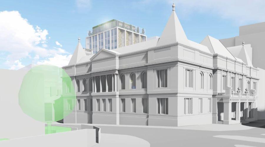 Nottingham Guildhall development
