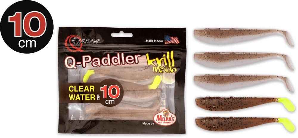 Manns Q Paddler 10cm Wakasagi + Brown Shiner