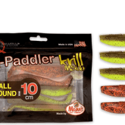 Manns / Quantum Q-Paddler 10cm Pumpkinseed Chartreuse + Original Appleseed All Round Mix