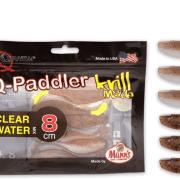 Manns / Quantum Q-Paddler 8cm Wakasagi + Brown Shiner Clear Water Mix