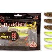 Manns / Quantum Q-Paddler 8cm Magic Motoroil + Citrus Shad UV Power Mix