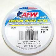 AFW Surflon Micro Ultra 19 Strand 6.6lb Black