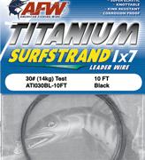 AFW Titanium Surfstrand 30lb