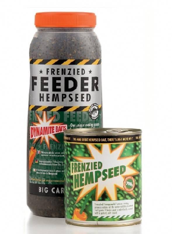 Dynamite Baits Frenzied Feeder Natural Hemp Seed 2.5L Jar
