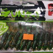 "Gunki Boogie Craws 3"" Pumpkin Green Flake 10 pack"