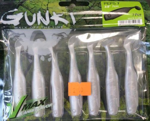 Gunki Peps7 White Flash 7 pack