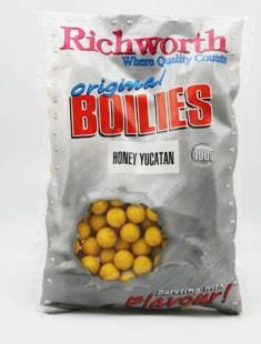 Richworth Honey Yucatan 1kg 15mm shelf life boilies