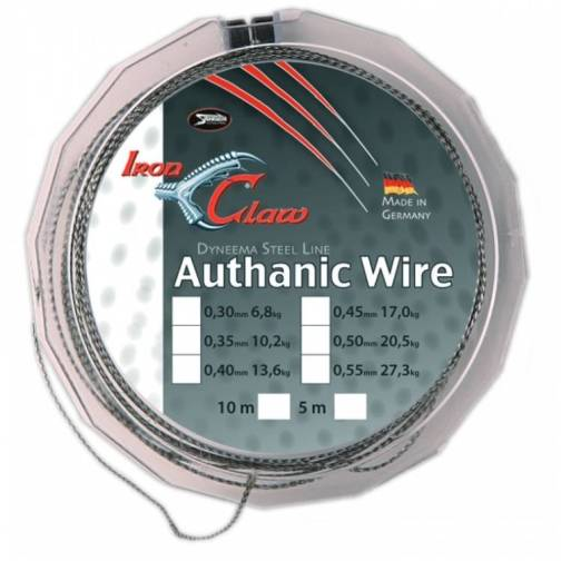 Iron Claw Authanic Wire 6.8kg