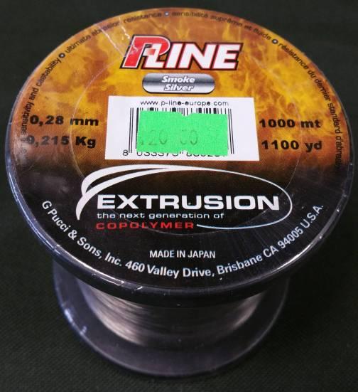 P-Line Extrusion 11lb 0.25mm 1000m