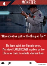 Sample Crew strategy card - red deck