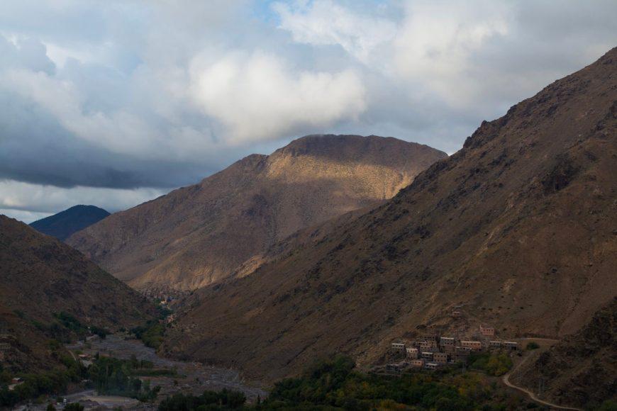 hiking the high atlas mountains