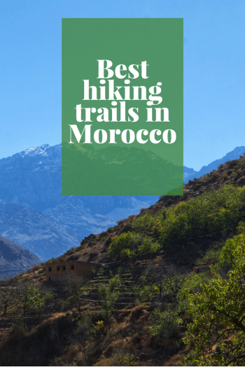 Hiking the Atlas Mountains in Morocco
