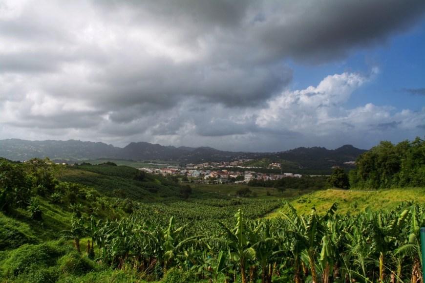 Martinique countryside