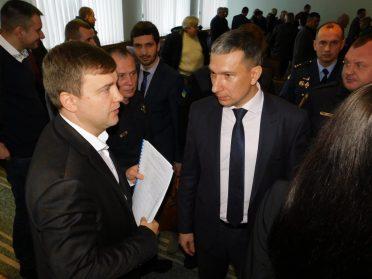 Віталій Коваль представив голів РДА в Гощанському та Радивилівському районах
