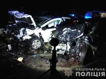 Біля Дубна зіткнулося 4 авто, 3 людини постраждало