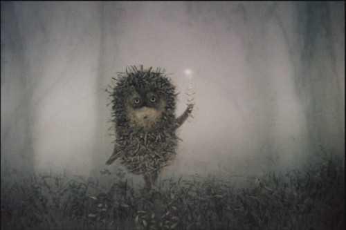 10 зимових цитат від їжачка у тумані