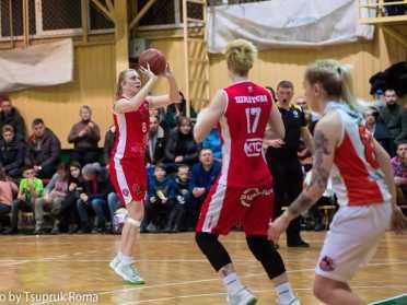 Рівненські баскетболістки влаштували камбек в останній чверті