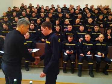 Пожежники Рівненської АЕС підбили підсумки 2019 року