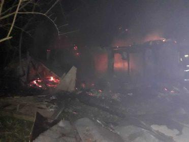 У Микитичах на Дубенщині згорів нежилий будинок