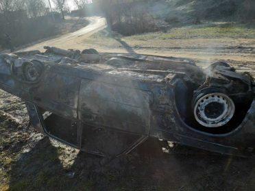 На Березнівщині рятувальники ліквідували пожежу і витік газу
