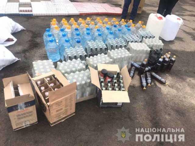 2 тисяч пачок цигарок та 430 літрів спирту вилучили на Демидівщині