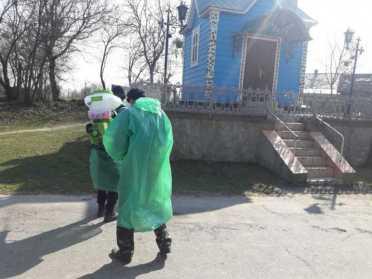 В Демидівській ОТГ провели дезінфекцію громадських місць – фото