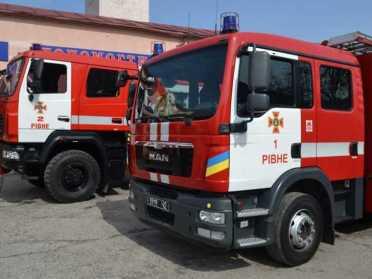 За тиждень підрозділи ДСНС Рівненщини ліквідували 80 пожеж