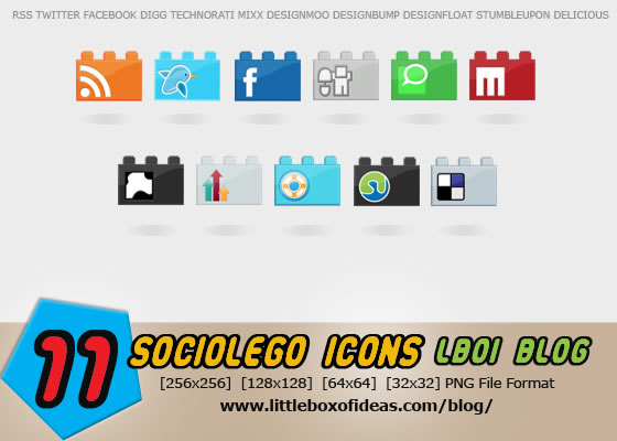 Social Bookmarking Icons