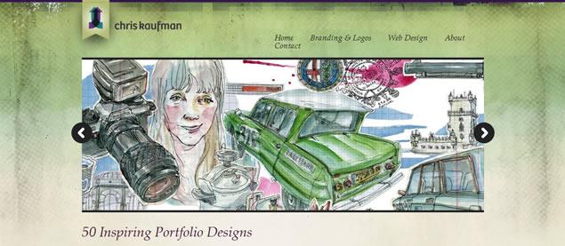 Chris Kaufman - Awesome Blog Designs