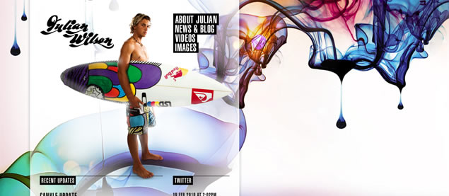 Julian Wilson - Awesome Blog Designs