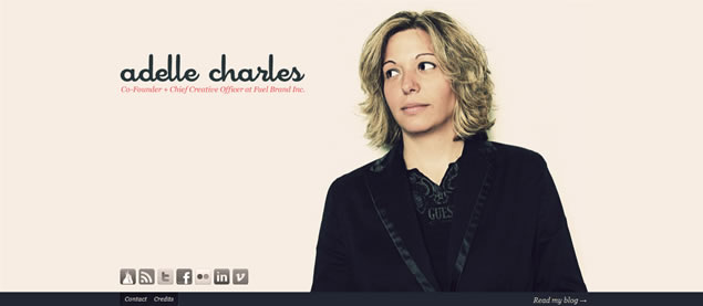 Adelle Charles - Awesome Blog Designs