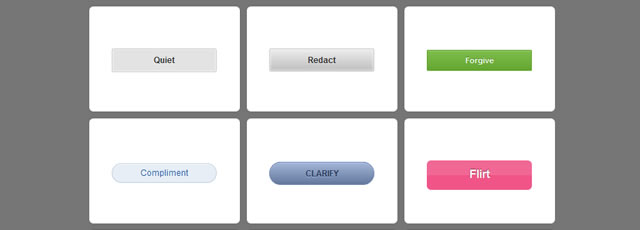 15 CSS3 Buttons