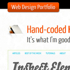 Backwards Compatible, One Page Portfolio (HTML5 and CSS3)