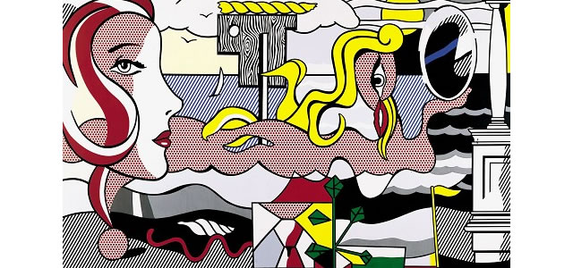 Figures in Landscape (1977) - Roy Lichtenstein