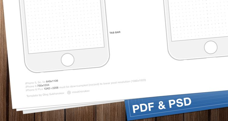 50 Free Wireframe Templates for Mobile  Web and UX Design iPhone sketch ios iphone ipad mobile app free wireframe kit template UI  design