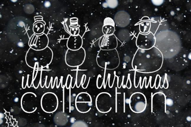 91 Christmas Brush Collection vacaciones gratis