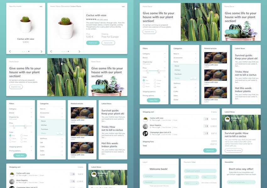 20 Free Adobe XD UI Kits for Web & Mobile App Designers