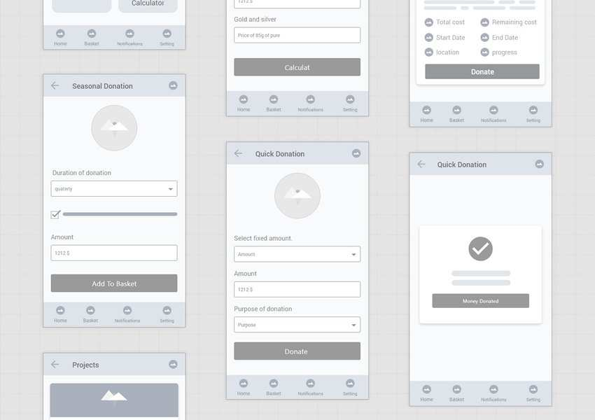 Free Mobile App Wireframe Kits for Adobe XD